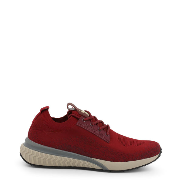 U.S. Polo Assn. Men's Trainers Red FELIX4163W9_T1
