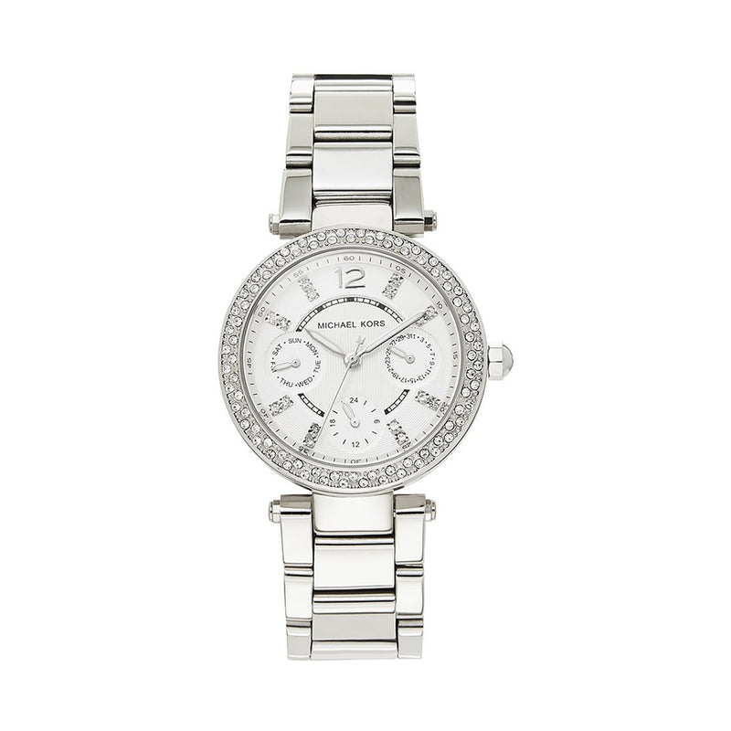 Michael Kors Ladies Silver Watch MK5615
