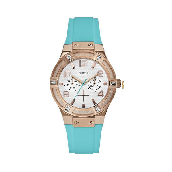 Guess Ladies Blue Watch W0564
