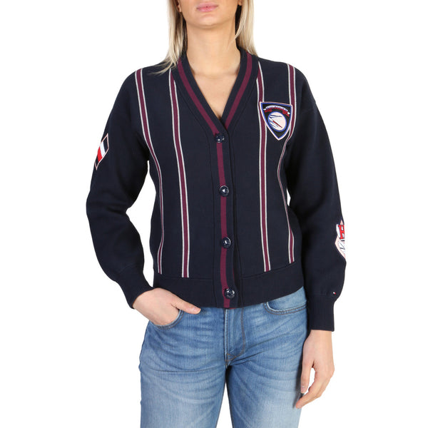 Tommy Hilfiger Women's Jumper Navy  WW0WW19655