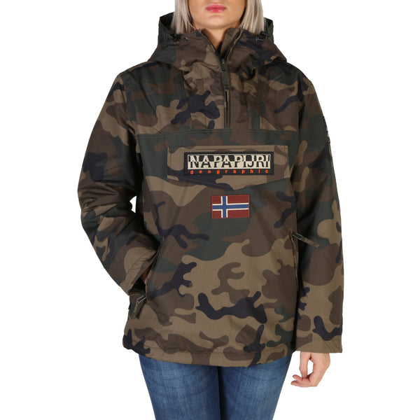 Napapijri Rainforest Women's Jacket Khaki W_NP000IT9