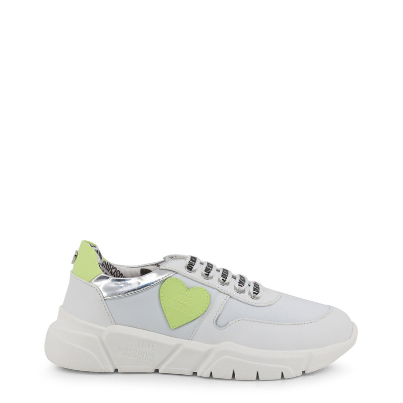 Love Moschino White Women's Trainers JA15203G17IN