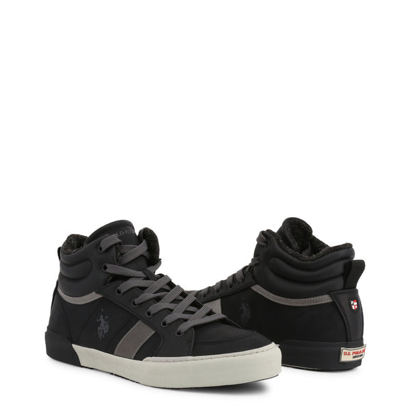 U.S. Polo Assn. Men's Trainers Black ARMAN7099W9_CY1