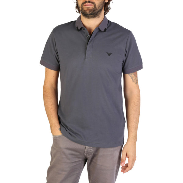 Emporio Armani Men's Polo 9P461 Grey