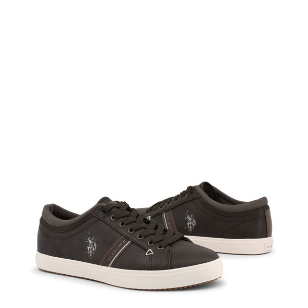 U.S. Polo Assn. Men's Trainers Brown WOUCK7108W8
