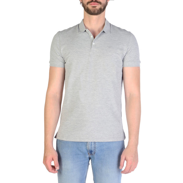 Emporio Armani Men's Polo 8N1F12 Grey