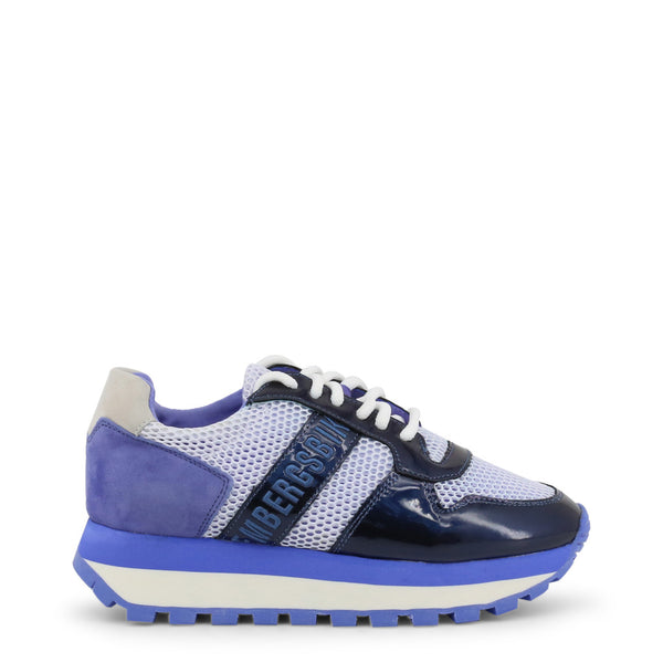 Bikkembergs Womens Trainers Blue FENDER-2087-MESH