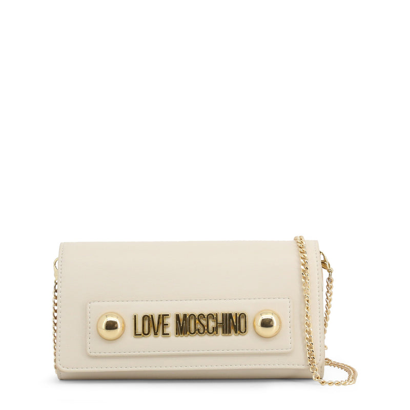 Love Moschino Clutch Bag White / Beige JC5636PP08KD