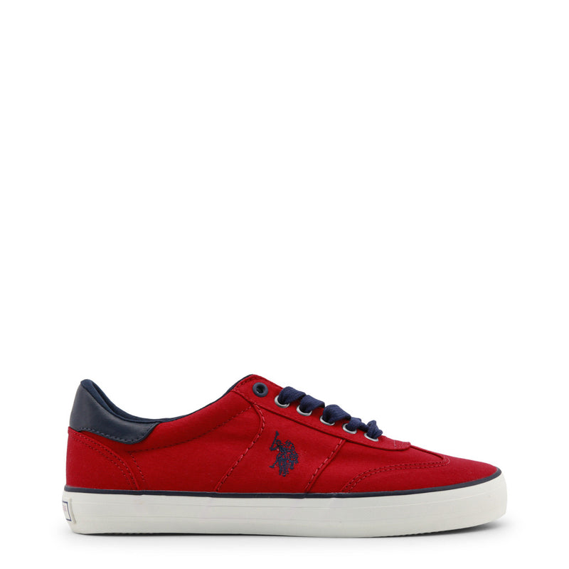 U.S. Polo Assn. Men's Trainers Red MARCS4146S8_C1