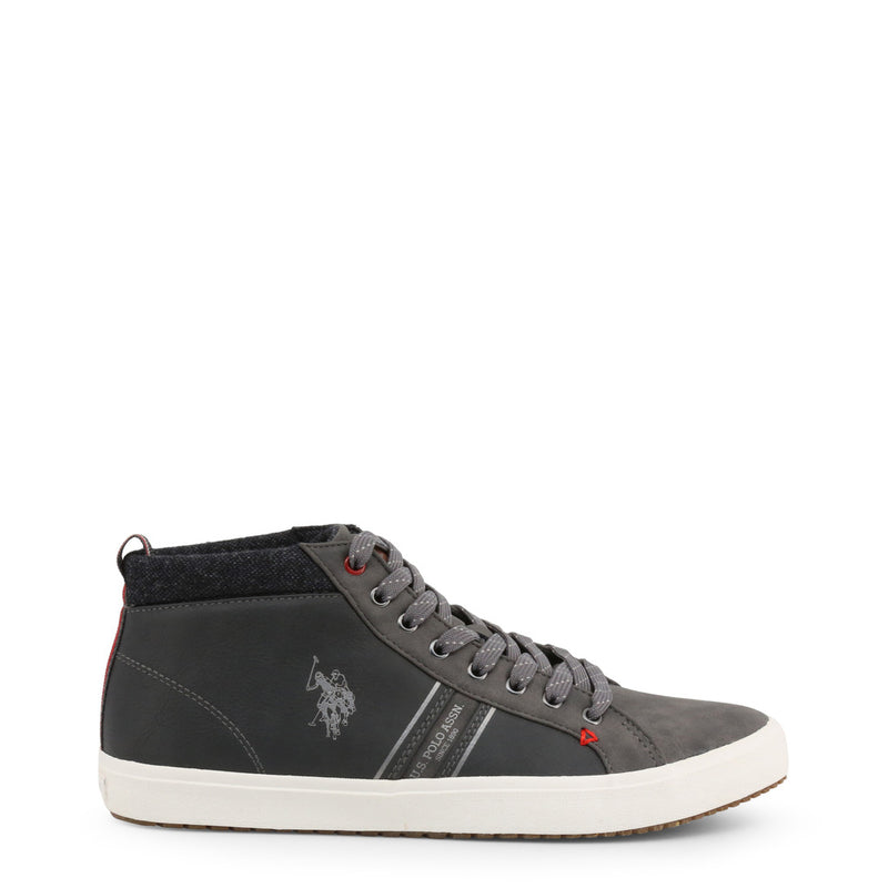 U.S. Polo Assn. Men's Trainers Grey WOUCK7147W9_Y1