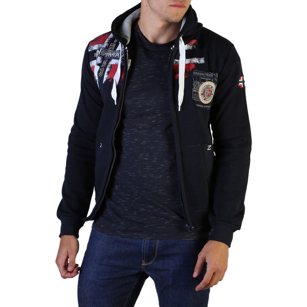 Geographical Norway Men's Hoodie Navy Fespote100_man