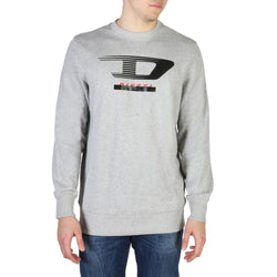 Diesel Men's Jumper Grey S-GIR-Y4_00SUTN