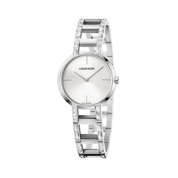 Calvin Klein Women's Watch K8N Silver