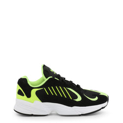 Adidas YUNG-1 Men's Trainers Black and Green EE5317