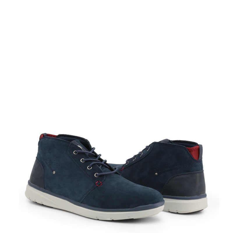 U.S. Polo Assn. Men's Lace Up Shoes Blue YGOR4128W9_SY1