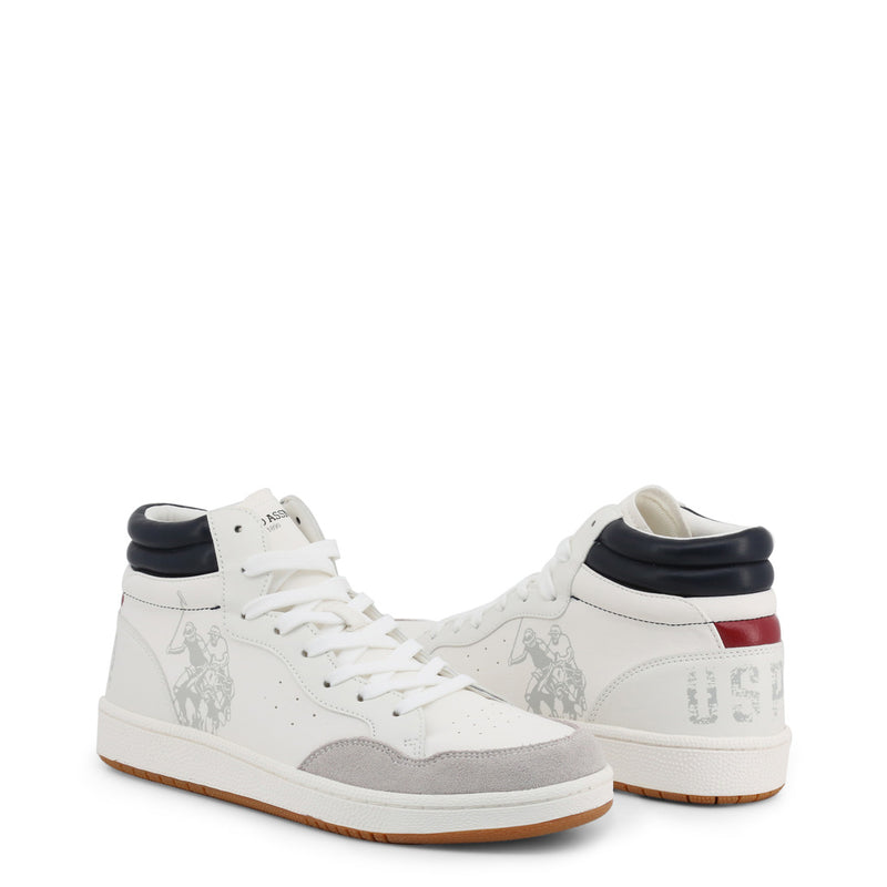U.S. Polo Assn. Men's Trainers White ALWYN4116W9_YS1