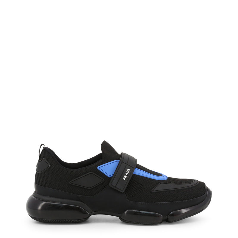 Black Prada Trainers Mens 2OG064 F0D8J