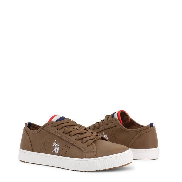 U.S. Polo Assn. Men's Trainers Brown MARCS4152S0_Y1