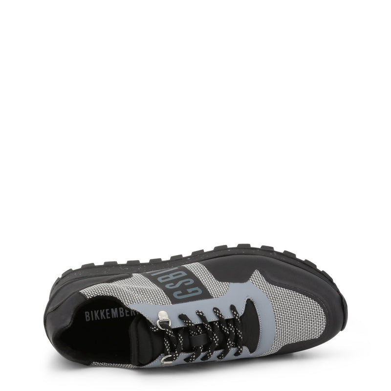 Bikkembergs Men's Trainers FENDER-2217 Black and Grey