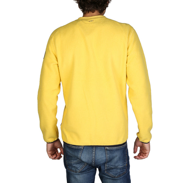 Napapijri Mens Jumper Yellow N0YHX9_TAME