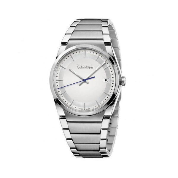 Calvin Klein Silver Watch For Men K6K311