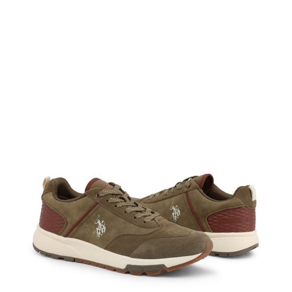 U.S. Polo Assn. Men's Trainers Khaki AXEL4120W9_SY1
