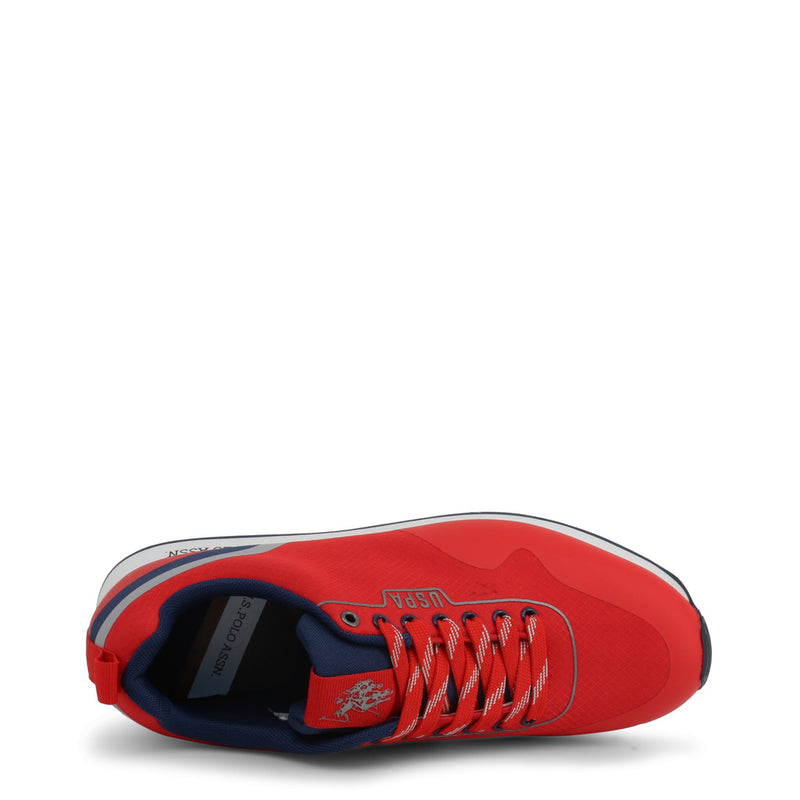 U.S. Polo Assn. Men's Trainers Red FLASH4119W9_T1