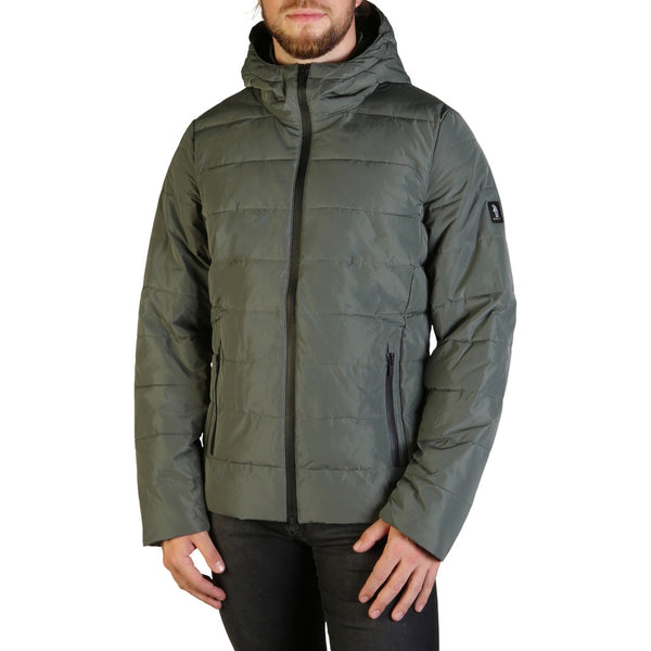 Refrigue Men's Parka Jacket Green BACKEN-A