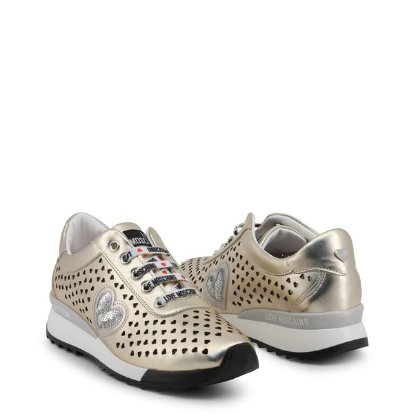 Love Moschino Gold Women's Trainers JA15082G17IC