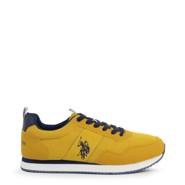 U.S. Polo Assn. Men's Trainers Yellow NOBIL4250S0_MH1