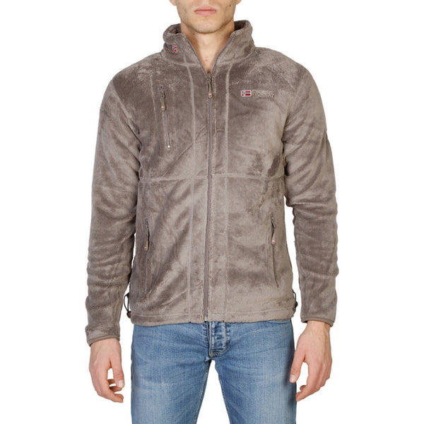 Geographical Norway Men's Jacket Brown Upload_man