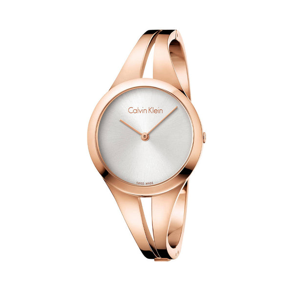 Calvin Klein Ladies Watch Rose Gold K7W2M
