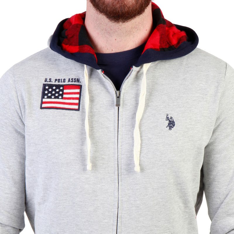 U.S. Polo Assn. Men's Hoodie Grey 43482_47130