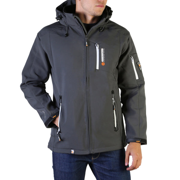 Geographical Norway Men's Jacket Grey Tichri_man