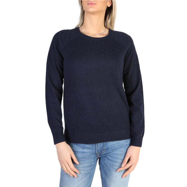 Tommy Hilfiger Women's Jumper Navy  WW0WW19657