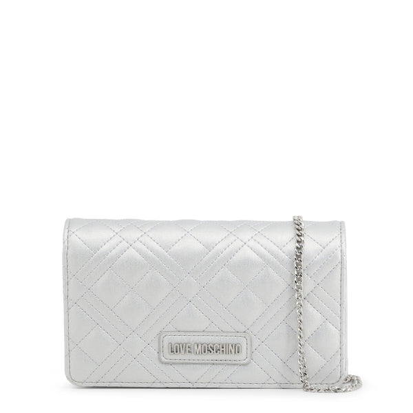 Love Moschino Clutch Bag Grey JC4093PP1ALI