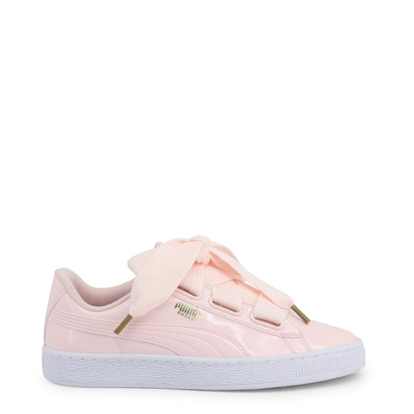 Puma Women's Trainers Pink 363073-BasketHeartPatent