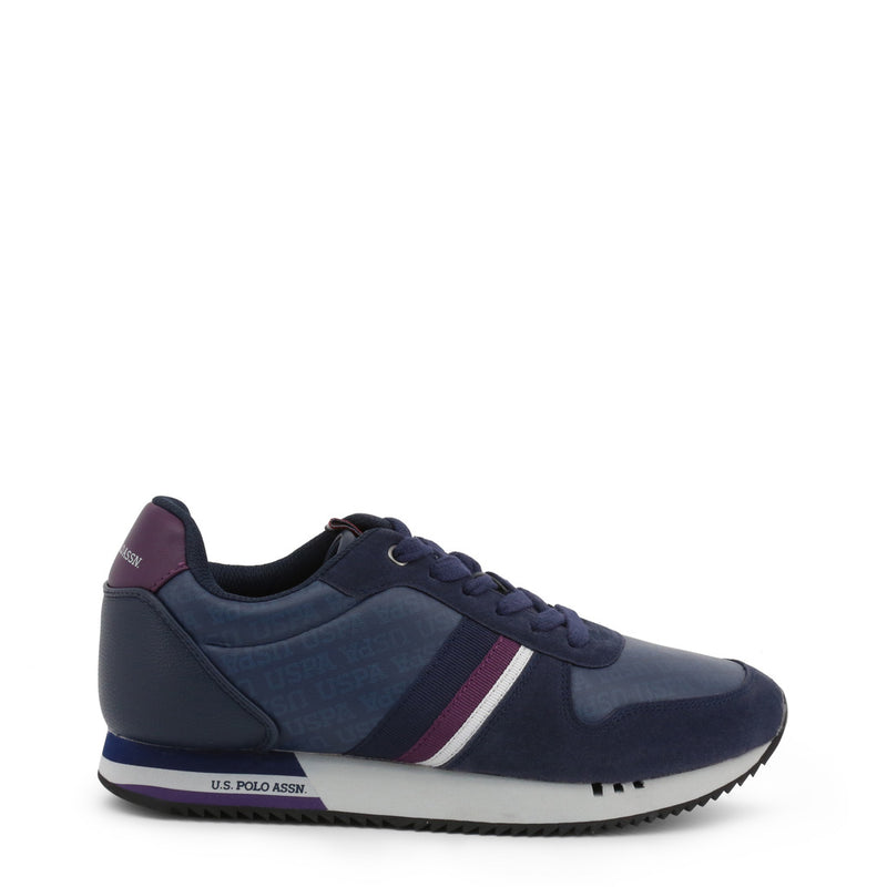 U.S. Polo Assn. Men's Trainers Blue CORAD4248W9_Y1