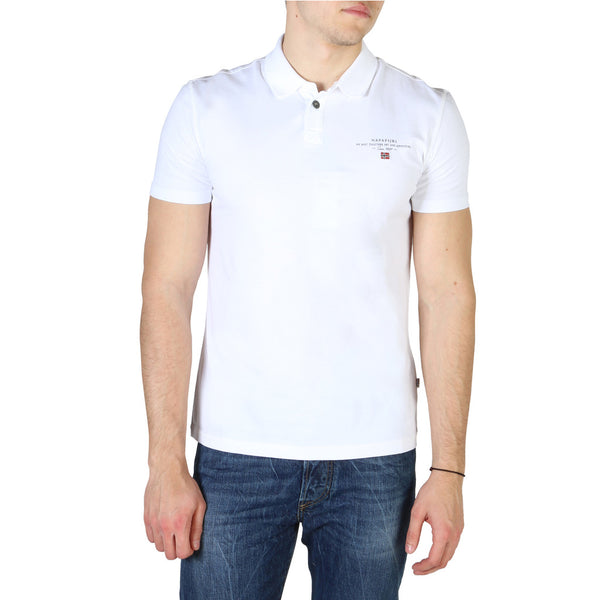 Napapijri Men's Polo White ELLI_NP0A4E2L