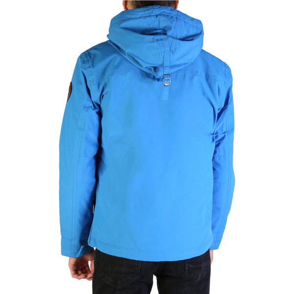 Napapijri RAINFOREST-N0YGNL Men's Jacket Blue