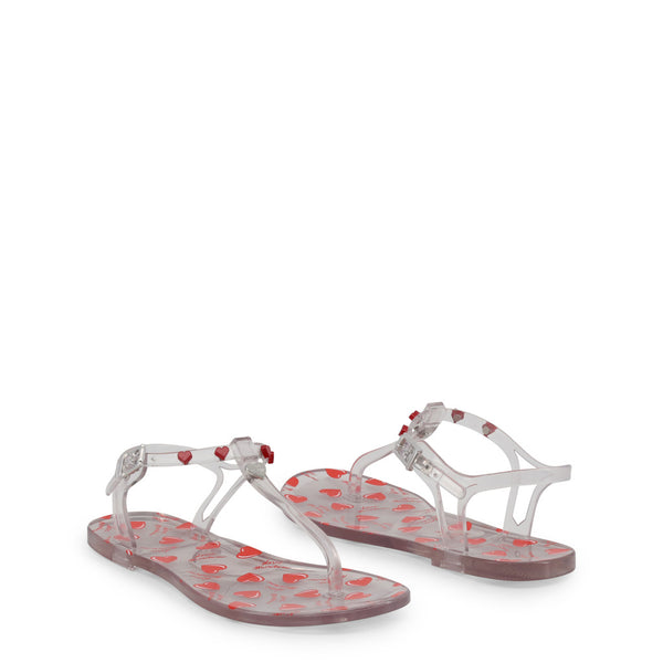 Love Moschino White Sandals JA16021G17IW