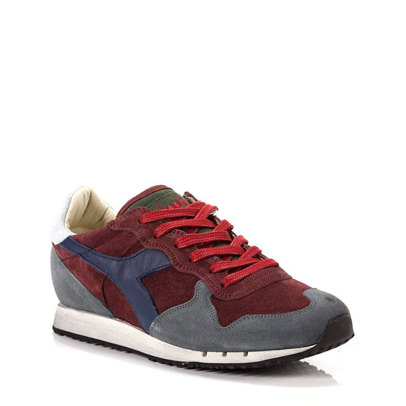 Diadora Heritage Mens Trainers Red TRIDENT_S_SW