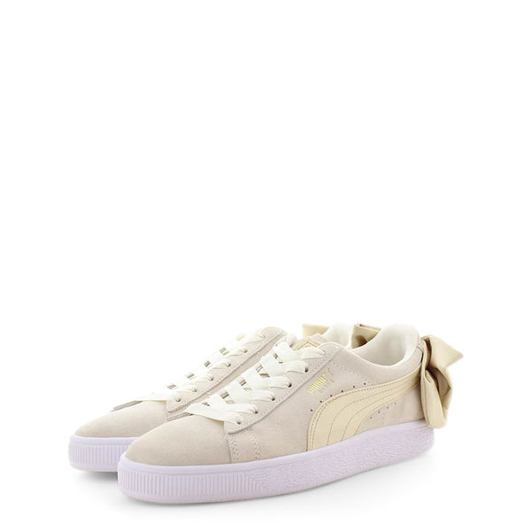 Puma Women's Trainers White 367732-SuedeBowVarsity