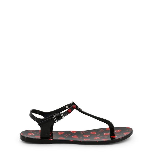 Love Moschino Black Sandals JA16021G17IW
