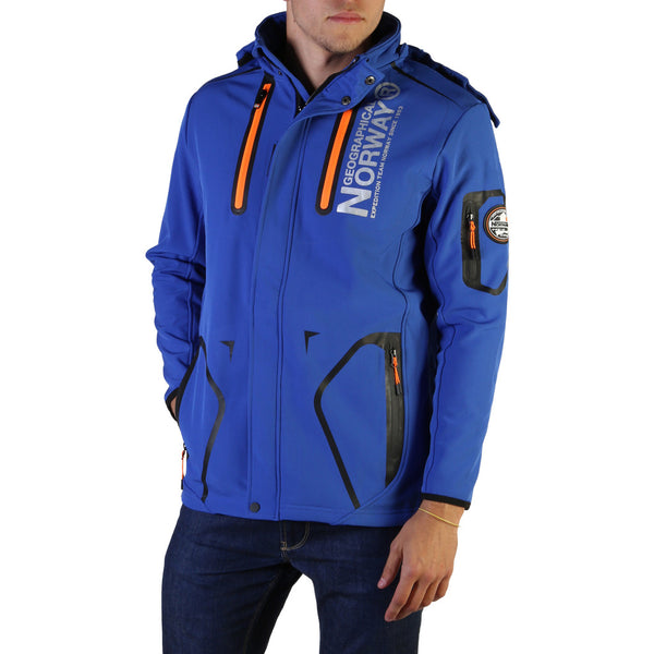 Geographical Norway Men's Jacket Blue Tyreek_man