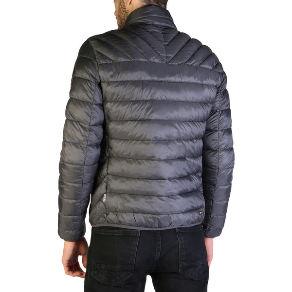 Napapijri Men's Down Jacket Grey AERONS_N0YI4Y