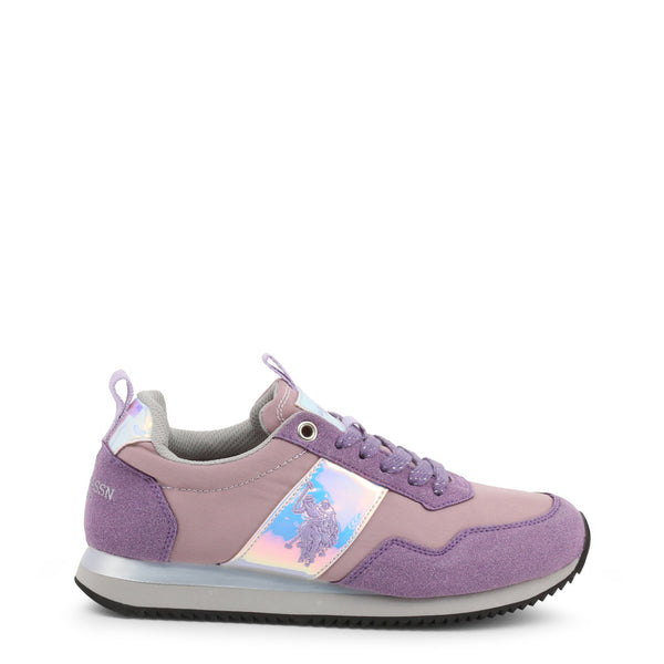 U.S. Polo Assn. Women's Trainers Pink NOBIW4156S9-NS1