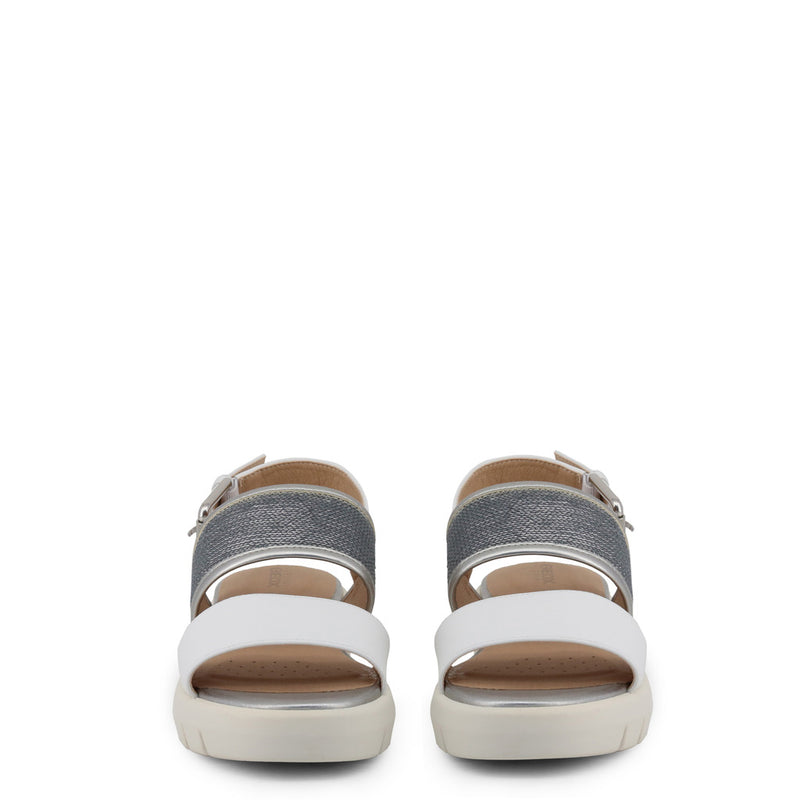 Geox Sandals White / Silver WIMBLEY