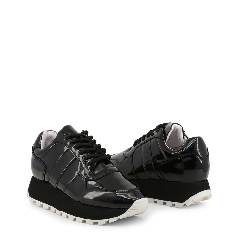 Bikkembergs Womens Trainers Black FENDER-2087-PATENT