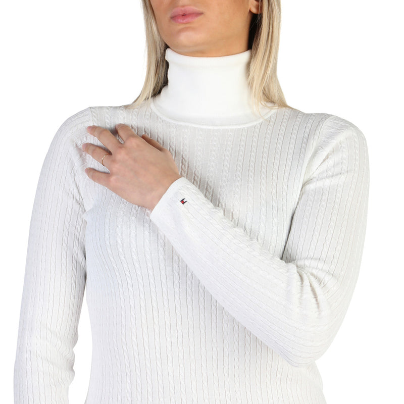 Tommy Hilfiger Women's Jumper White  WW0WW19697